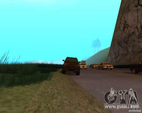 Cavalcade of GTA 4 for GTA San Andreas right view