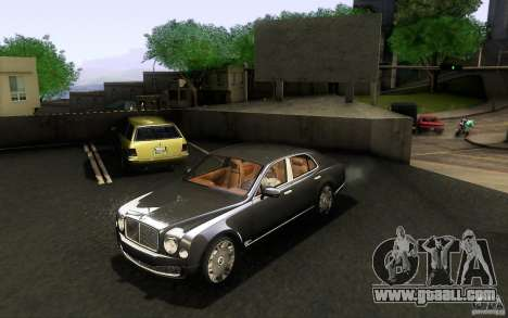 Bentley Mulsanne 2010 v1.0 for GTA San Andreas left view