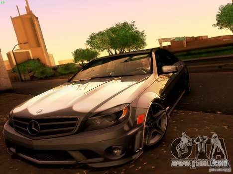 Mercedes-Benz C36 AMG for GTA San Andreas upper view