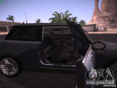 Mini Cooper S for GTA San Andreas side view