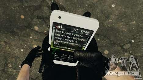 Samsung Galaxy S2 for GTA 4 sixth screenshot