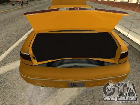 Lincoln Mark VIII 1996 for GTA San Andreas back view