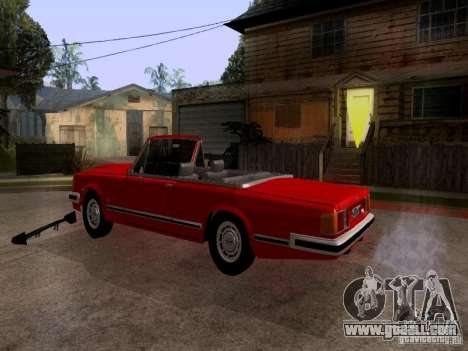 ZIL 41044 Phaeton for GTA San Andreas back left view