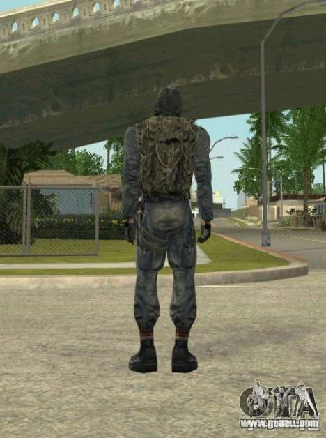 Grouping of Mercenaries from a stalker for GTA San Andreas