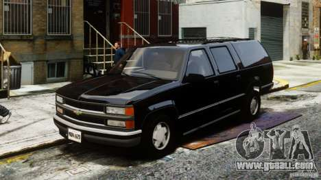 Chevrolet Suburban GMT400 v1.1 for GTA 4