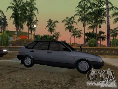 Vaz 2109 Sputnik for GTA San Andreas left view