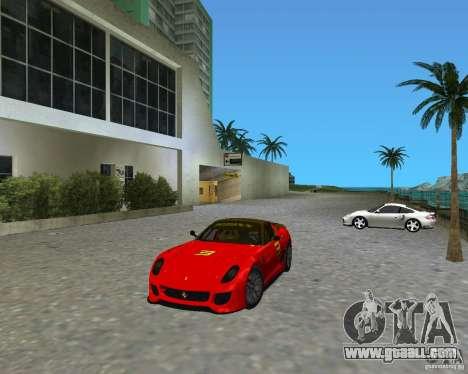 Ferrari 599 GTO for GTA Vice City