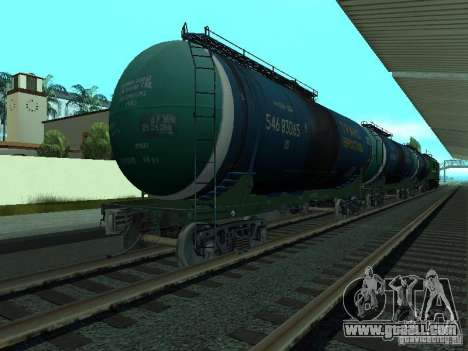 Tank wagon for GTA San Andreas
