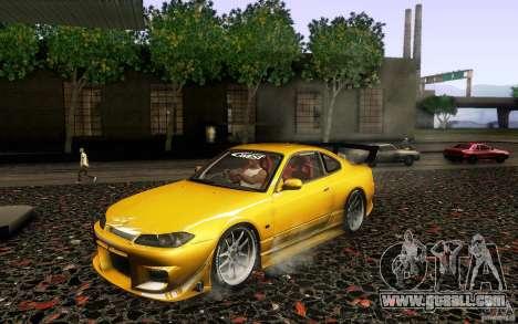 Nissan Silvia S15 Drift Style for GTA San Andreas