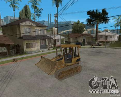 Bulldozer from COD 4 MW for GTA San Andreas back view