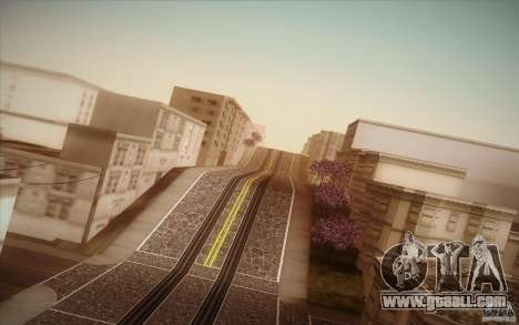 New roads San Fierro for GTA San Andreas seventh screenshot