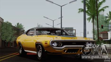 Plymouth GTX 426 HEMI 1971 for GTA San Andreas