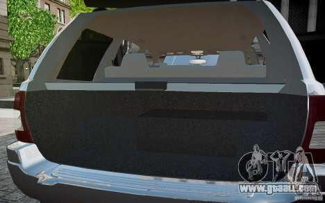 Jeep Grand Cheroke for GTA 4 engine