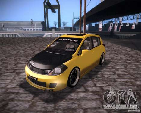 Nissan Versa Tuned for GTA San Andreas