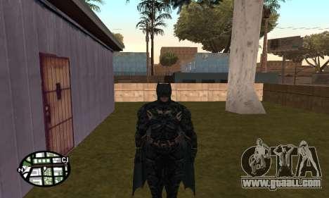 Dark Knight Skin Pack for GTA San Andreas second screenshot