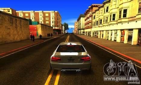 BMW M3 E92 for GTA San Andreas interior