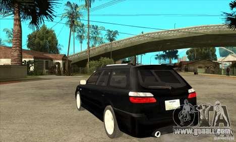 Subaru Legacy Station Wagon for GTA San Andreas back left view
