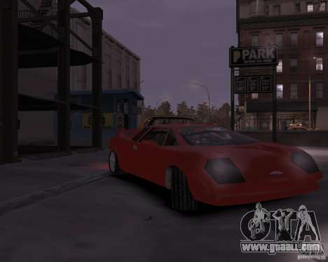 Infernus - Vice City for GTA 4 left view