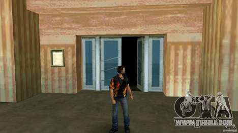 Mr Fire with blue jeans for GTA Vice City