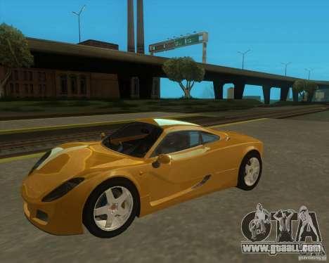 Ginetta F400 for GTA San Andreas