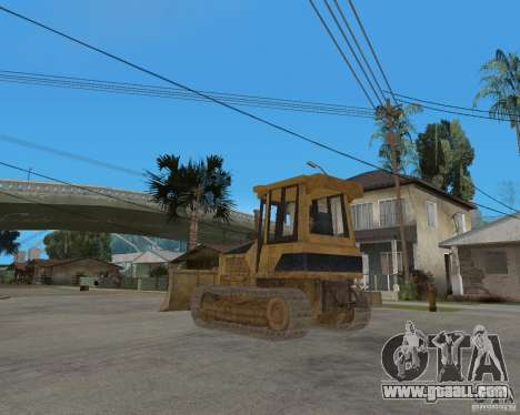 Bulldozer from COD 4 MW for GTA San Andreas back left view