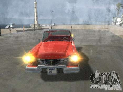 Plymouth Belvedere Sport sedan for GTA San Andreas side view