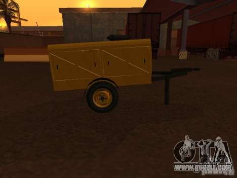 Trailer compressor station for GTA San Andreas left view