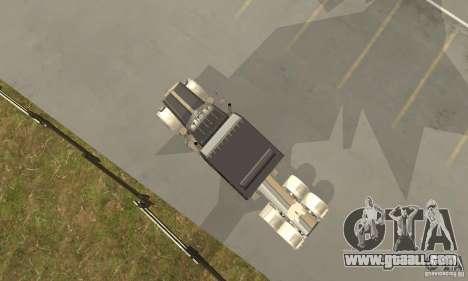 Peterbilt 379 Custom Legacy for GTA San Andreas back view