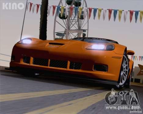 Chevrolet Corvette C6 Z06R GT3 v1.0.1 for GTA San Andreas bottom view