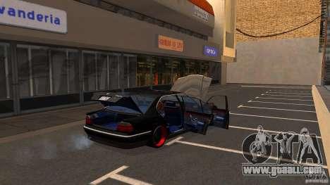 BMW E38 750LI for GTA San Andreas side view