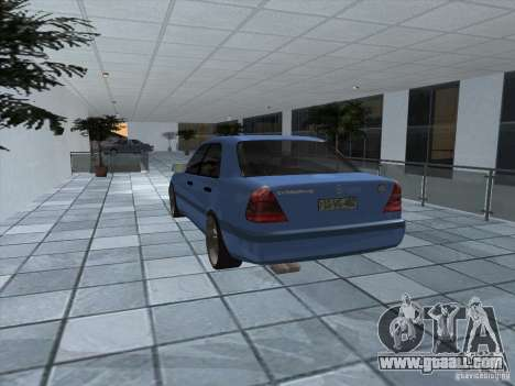 Mercedes Benz C220 for GTA San Andreas right view