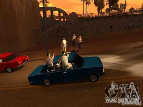 Vagosy-Grove for GTA San Andreas third screenshot