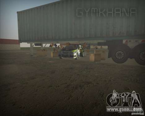 Gymkhana mod for GTA Vice City second screenshot