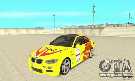 BMW M3 2008 for GTA San Andreas interior