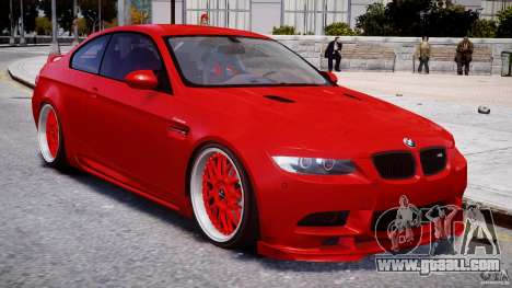 BMW M3 Hamann E92 for GTA 4 side view
