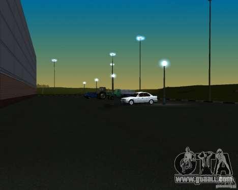 Cars in the parking lot at Anašana for GTA San Andreas third screenshot