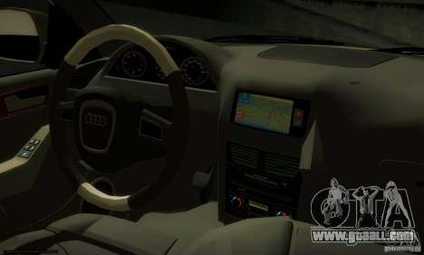 Audi Q5 TDi - Policija for GTA San Andreas back view