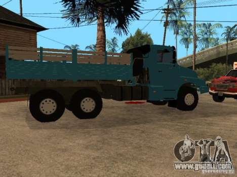 KAMAZ-4355 for GTA San Andreas back left view