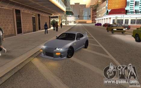 Toyota Supra Mark IV for GTA San Andreas