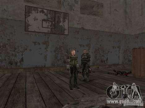 Degtyarev of Stalker for GTA San Andreas ninth screenshot