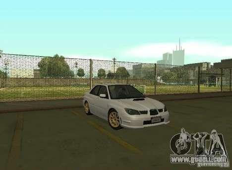 Subaru Impreza WRX STI-Street Racing for GTA San Andreas left view