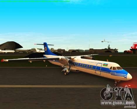 ATR 72-500 Azerbaijan Airlines for GTA San Andreas left view