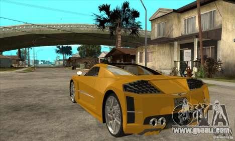 Chrysler ME Four-Twelve Concept for GTA San Andreas back left view