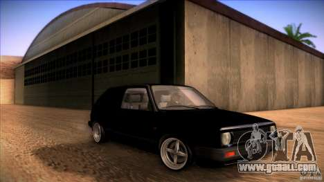 Volkswagen Golf MK II for GTA San Andreas