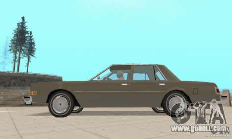 Dodge Diplomat 1985 v2.0 for GTA San Andreas right view