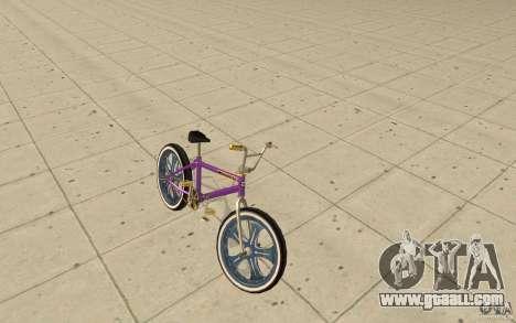 Spin Wheel BMX v1 for GTA San Andreas