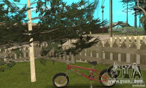 BMX Long 2 for GTA San Andreas right view
