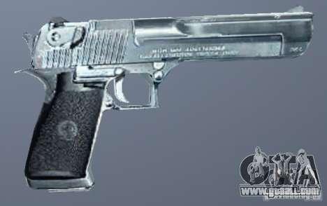 Desert Eagle Silver for GTA San Andreas
