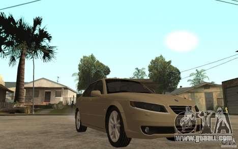 Saab 9-5 for GTA San Andreas back view
