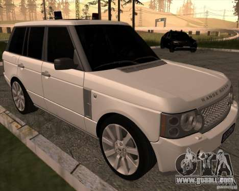 Land Rover Range Rover Supercharged for GTA San Andreas left view